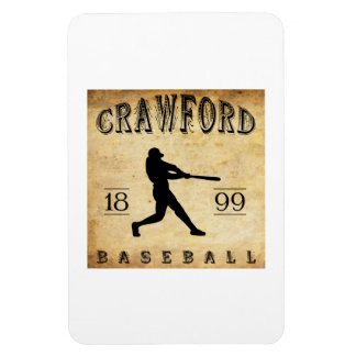 1899 Crawford Indiana Baseball Flexible Magnets