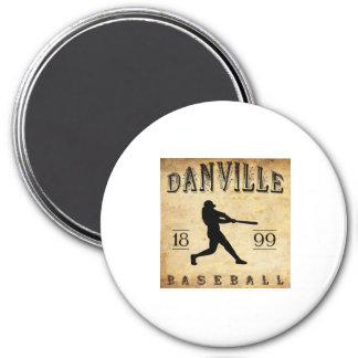 1899 Danville Indiana Baseball Magnet
