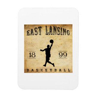 1899 East Lansing Michigan Basketball Flexible Magnet