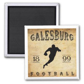 1899 Galesburg Illinois Football Refrigerator Magnet