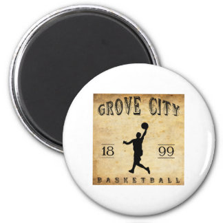 1899 Grove City Pennsylvania Basketball Magnet