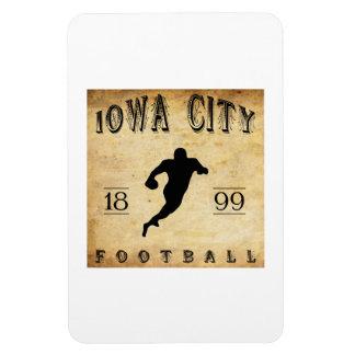 1899 Iowa City Iowa Football Vinyl Magnets