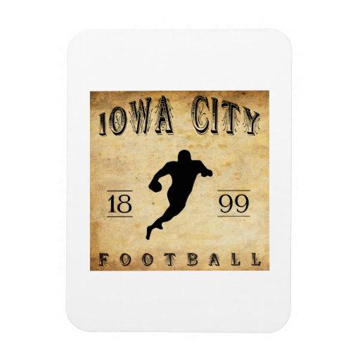 1899 Iowa City Iowa Football Rectangular Magnets