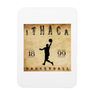1899 Ithaca New York Basketball Rectangular Magnet