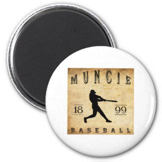 1899 Muncie Indiana Baseball Magnets