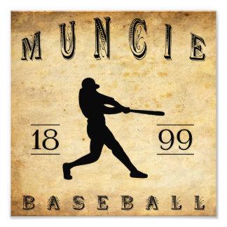 1899 Muncie Indiana Baseball Photograph