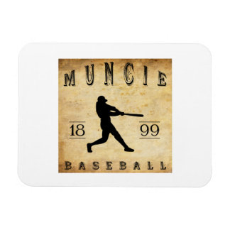 1899 Muncie Indiana Baseball Magnet