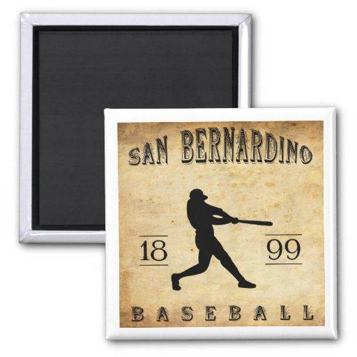 1899 San Bernardino California Baseball Fridge Magnets
