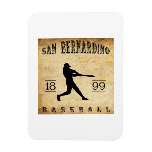 1899 San Bernardino California Baseball Vinyl Magnet