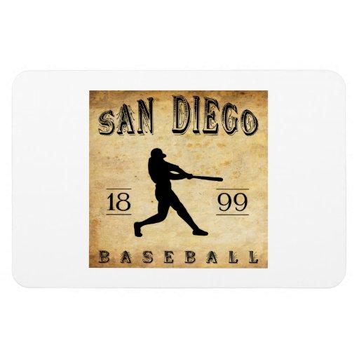 1899 San Diego California Baseball Magnets