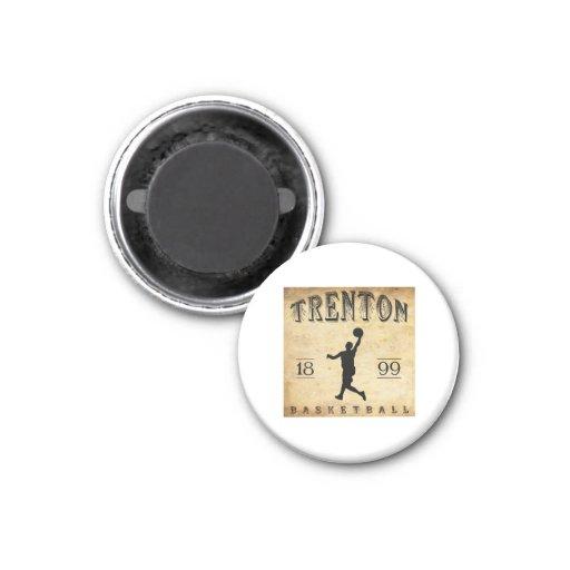 1899 Trenton New Jersey Basketball Refrigerator Magnets