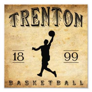1899 Trenton New Jersey Basketball Art Photo