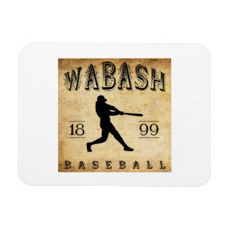 1899 Wabash Indiana Baseball Flexible Magnets