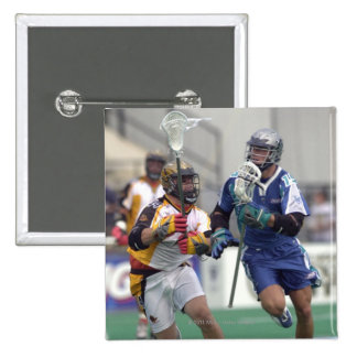 18 Aug 2001:  Shawn Nadelen #15  Baltimore 15 Cm Square Badge