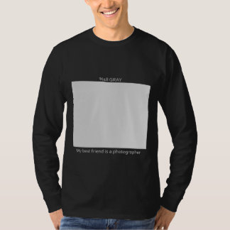 %18 Gray Card For Photographer's Friends T-Shirt