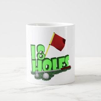 18 Holes Jumbo Mug