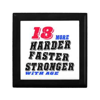 18 More Harder Faster Stronger With Age Gift Box