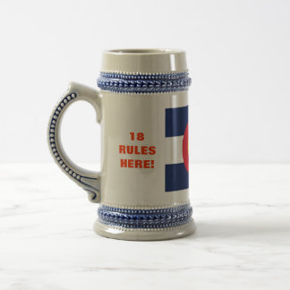 18 RULES HERE! BEER STEIN