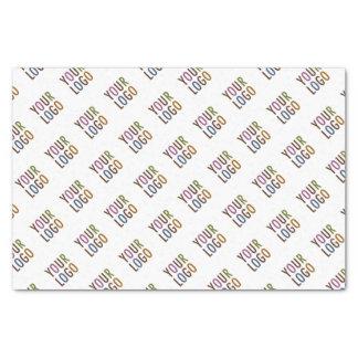 18lb Tissue Paper with Company Logo Low Minimum