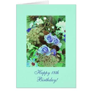 18th (age) birthday card