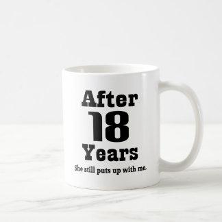 18th Anniversary (Funny) Coffee Mug