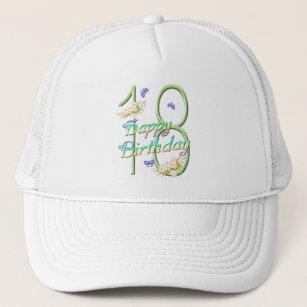 18th Birthday Butterfly Garden Hat