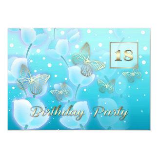 18th Birthday Party Custom Invitations