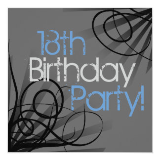 18th Birthday Party Invitations