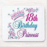18th Birthday Princess Mousepad