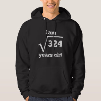 18th Birthday Square Root Hoodie