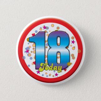 18th Birthday Today v2 6 Cm Round Badge