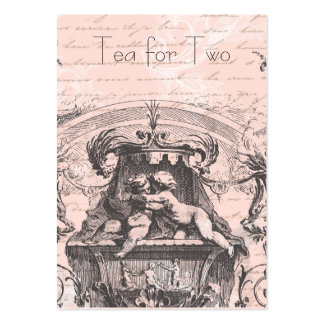 18th Century Cherub Rococo Pack Of Chubby Business Cards