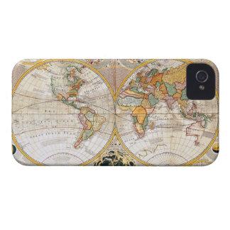 18th Century Map Case-Mate Blackberry Case
