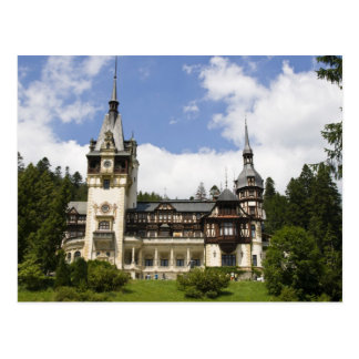 18th Century Peles Castle, Sinaia, Romania, Postcard