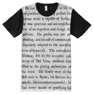 18th Century Text T-Shirt