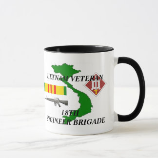 18th Engineer Brigade Vietnam Veteran Coffee Mugs