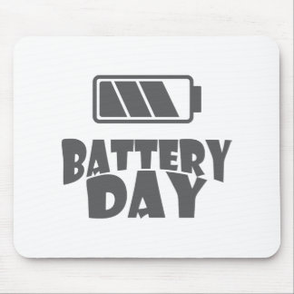 18th February - Battery Day - Appreciation Day Mouse Pad