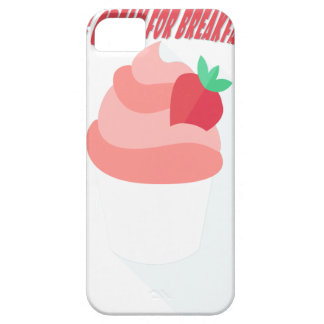 18th February - Eat Ice Cream For Breakfast Day Barely There iPhone 5 Case