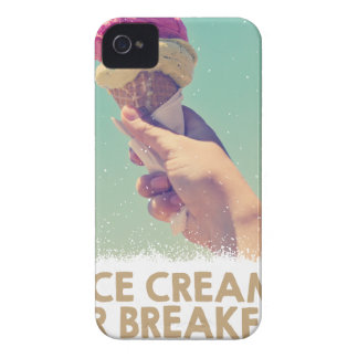 18th February - Eat Ice Cream For Breakfast Day Case-Mate iPhone 4 Cases