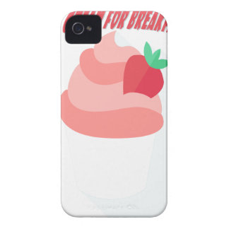 18th February - Eat Ice Cream For Breakfast Day iPhone 4 Covers