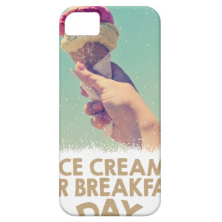 18th February - Eat Ice Cream For Breakfast Day iPhone 5 Cover