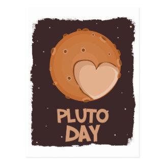 18th February - Pluto Day - Appreciation Day Postcard