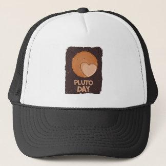 18th February - Pluto Day - Appreciation Day Trucker Hat