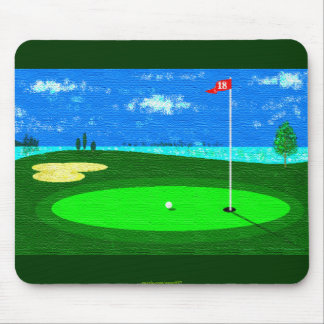 18th Hole Mouse Pads