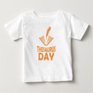 18th January - Thesaurus Day Baby T-Shirt