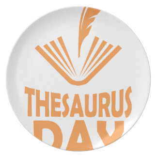 18th January - Thesaurus Day Plate