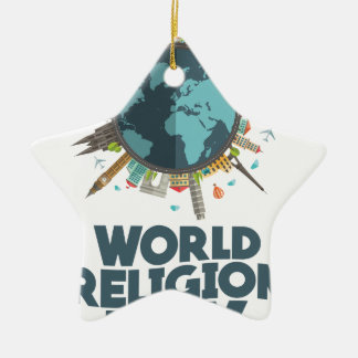 18th January - World Religion Day Ceramic Ornament