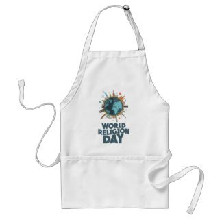 18th January - World Religion Day Standard Apron