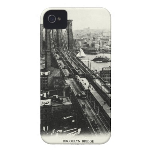 1900 Brooklyn Bridge Blackberry Bold Cover