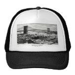 1900 Brooklyn Bridge Panorama Hats